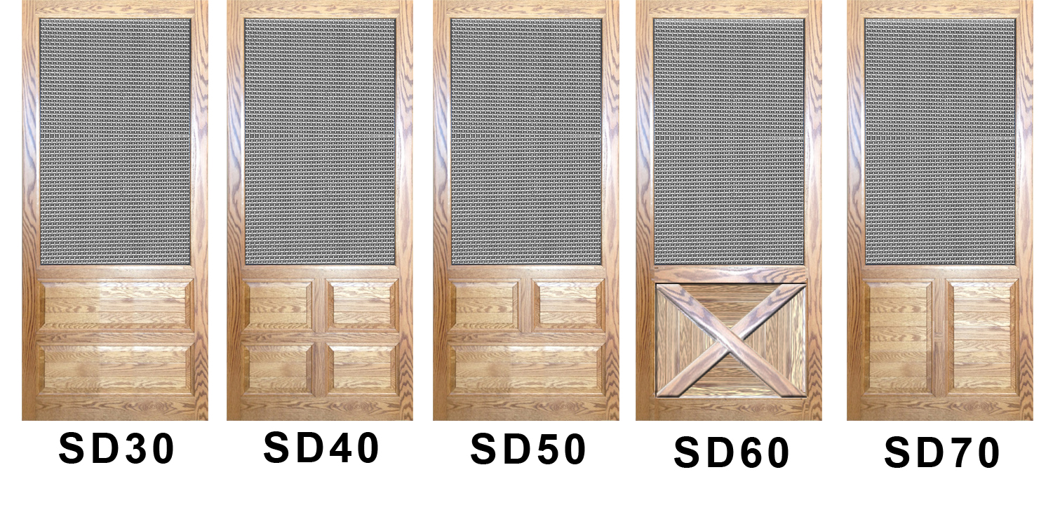 Wood Screen Doors Catalog 14 Security Doors The